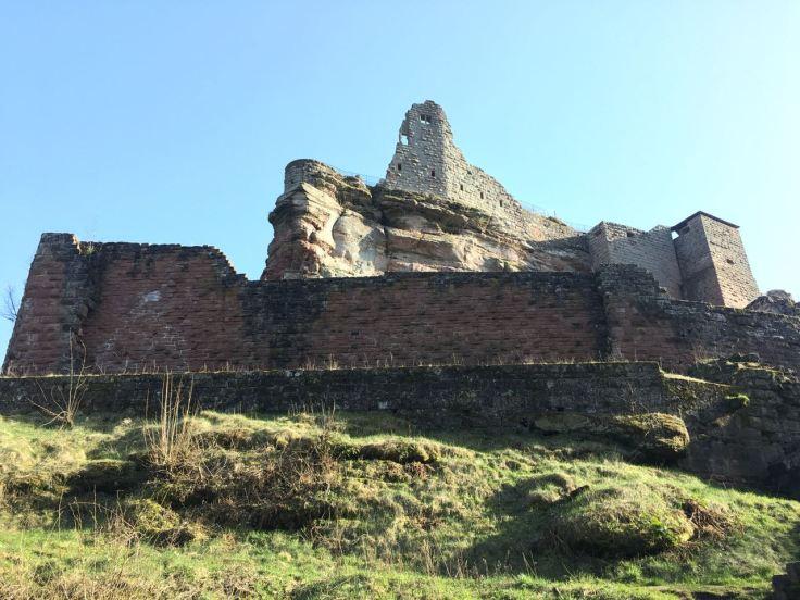 Burg Fleckenstein Pfalz Elsass Chateau du Fleckstein